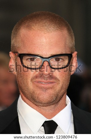 Heston Blumenthal arriving for the 2012 GQ Men Of The Year Awards, Royal Opera House, London. 05/09/2012 Picture by: Henry Harris - stock photo