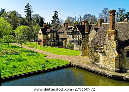 Hever Castle, Hever, Kent, England. - stock photo