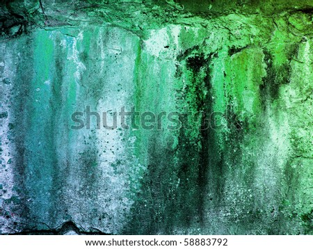 hi-res abstract grunge background, raster illustration - stock photo