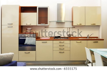 hi res photo of modern wood kitchen