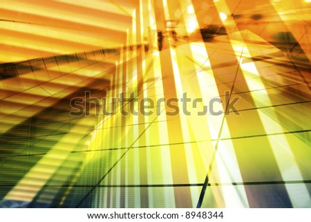 Hi-Tech Abstract Futuristic Background. Great as a background or a design element.