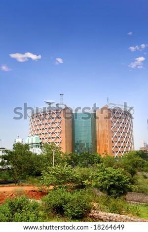 Hi-Tech City - stock photo