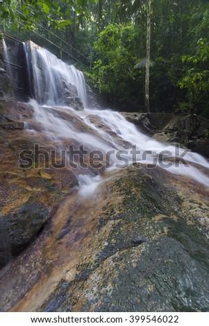 beautiful soft waterfall in - photo #8