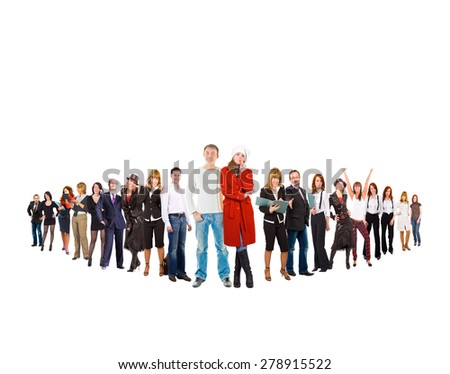 HIERARCHY Concept Corporate Teamwork  - stock photo