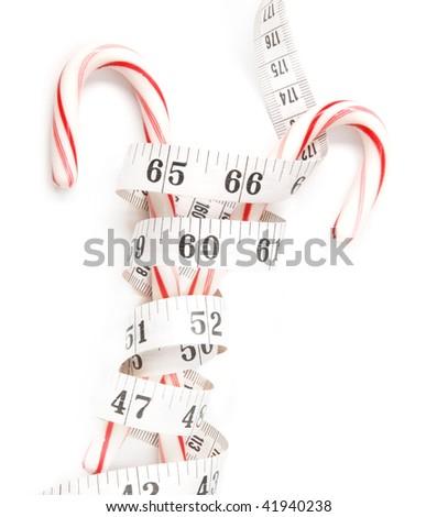 high calorie holidays - stock photo