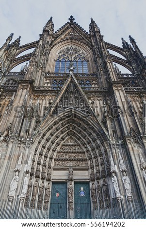 high cathedral of saint peter, cologne, Germany