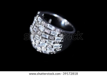High Class Womens Expensive Bracelet - stock photo