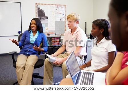 Teen Forum Students Discuss 27