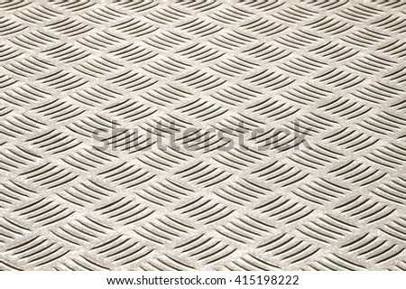 high contrast steel panel optical illusion abstract - stock photo