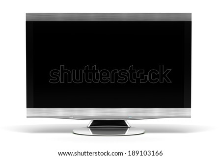 High-definition Television - stock photo