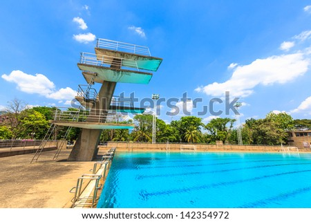 High Dive Stock Images Royalty Free Images Vectors Shutterstock