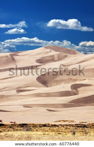 High Dune - stock photo
