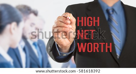 net worth of business