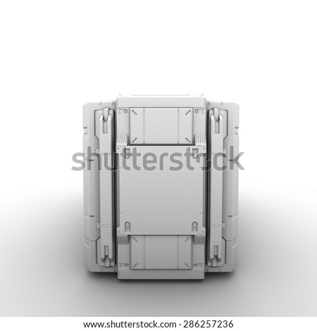 high quality 3d render image - stock photo