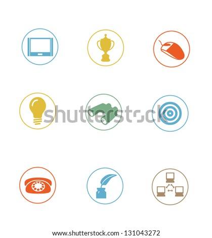High Quality Icon Sets - modern, professionally designed - stock photo