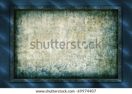 High Res Abstract Background with frame - stock photo