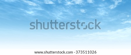 High resolution beautiful blue natural sky with white clouds paradise cloudscape background for summer or spring season or for space, environment, freedom, meteorology, atmosphere, heaven or tranquil - stock photo
