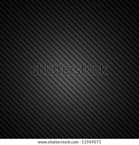 High resolution black carbon fiber spotlight background illustration - stock photo