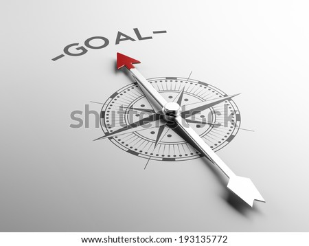 High Resolution Goal Concept - stock photo