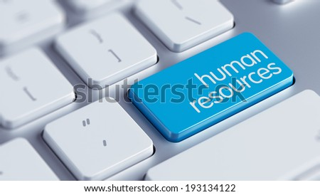 High Resolution Human Resources Concept - stock photo