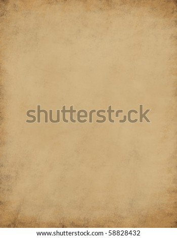 High resolution old paper texture - stock photo