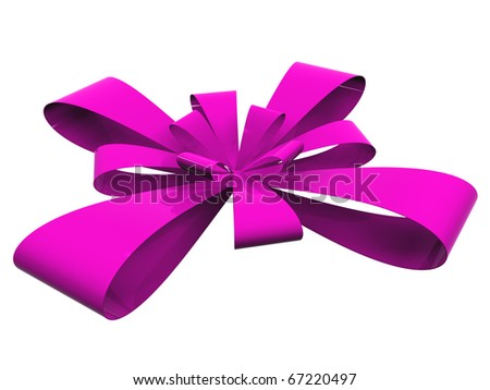 High resolution ribbon isolated