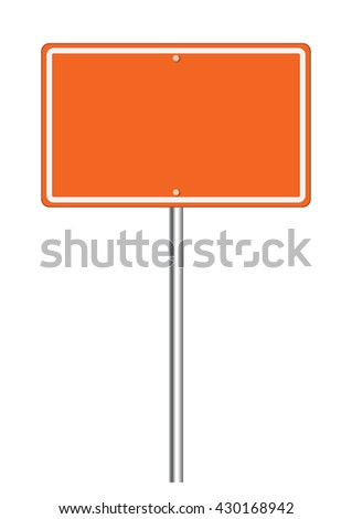 High resolution road sign clip-art for art work.
