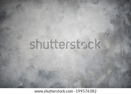 High resolution rough gray textured grunge concrete wall, background - stock photo