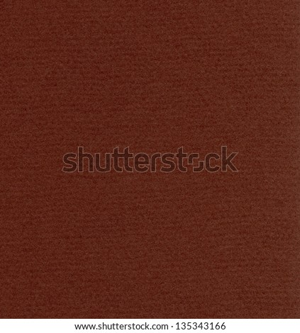 High resolution scan of maroon fiber paper.