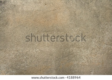 High resolution textured wall for background image, grainy nature is due to concrete, not image noise - stock photo