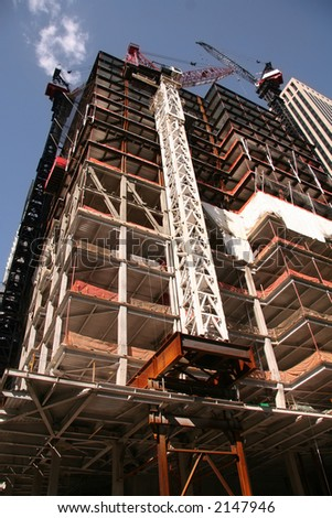 High Rise Building Construction in New York City