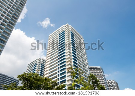 High rise condominiums - stock photo