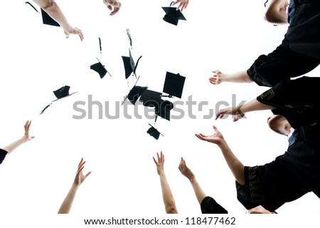 high school graduation hats high