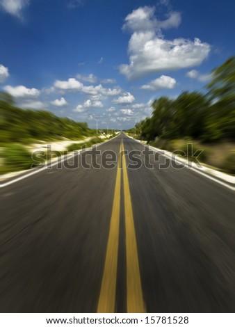high speed - stock photo
