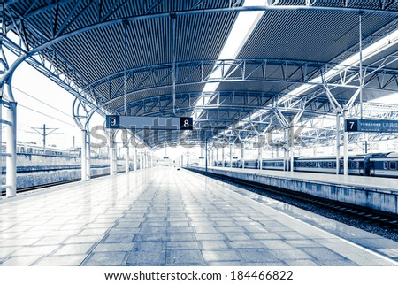 High-speed Rail station