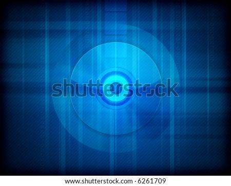 High-Tech Background - stock photo