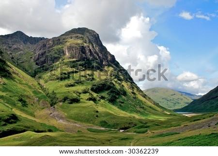 Highlands - stock photo