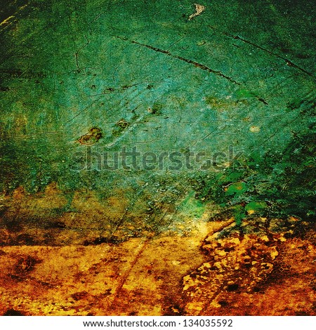 Highly detailed abstract texture or grunge background. For art texture, grunge design, and vintage paper or border frame - stock photo