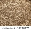 Highly detailed background with oriental ornaments - stock photo