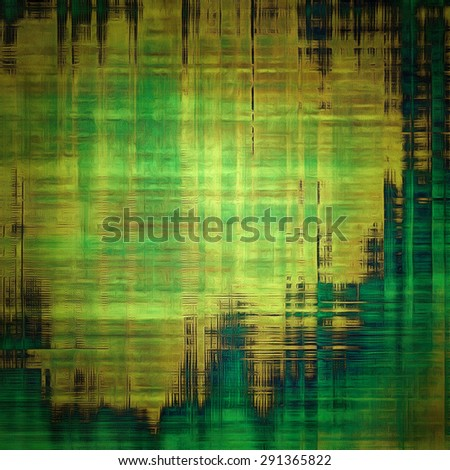Highly detailed grunge texture or background. With different color patterns: yellow (beige); brown; blue; green - stock photo