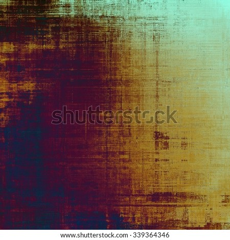 Highly detailed grunge texture or background. With different color patterns: yellow (beige); brown; blue; purple (violet) - stock photo