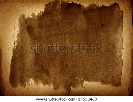 Highly detailed textured antique  paper , great grunge background for your projects  with space for your text or image.