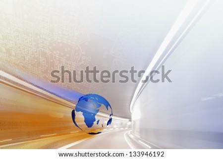 Highspeed Internet Illustration - stock photo