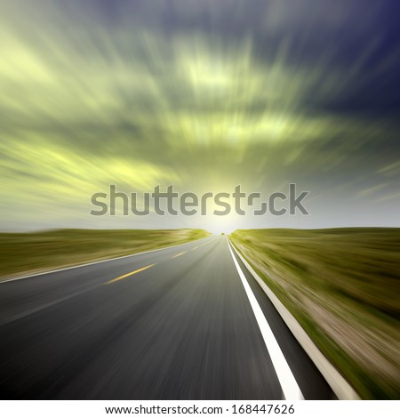 Highway in the future