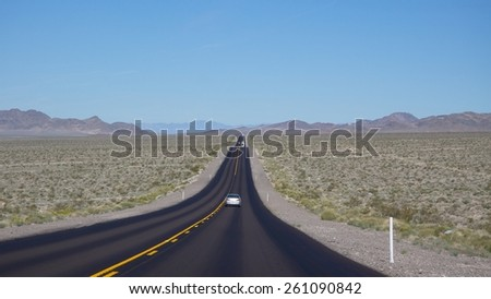 Highway to the Death Valley