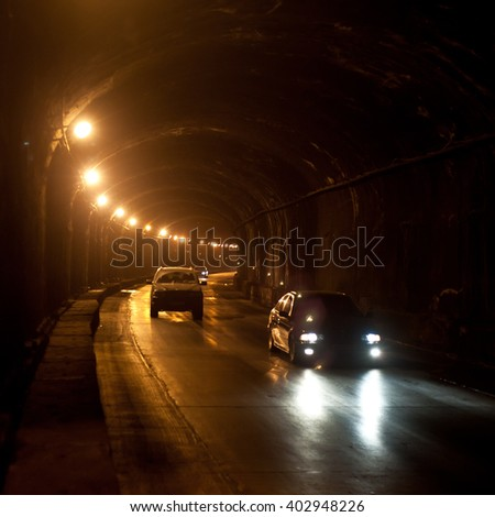 Highway - tunnel
