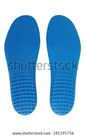 Hiking shoe insoles of Italian trekking boot