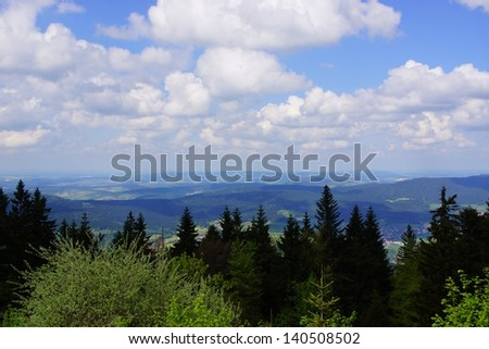 Hiking tour in the Bavarian Forest