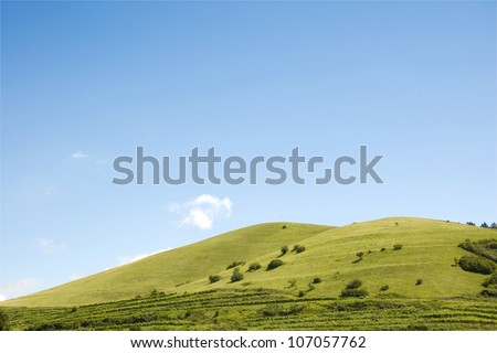 Hill - stock photo