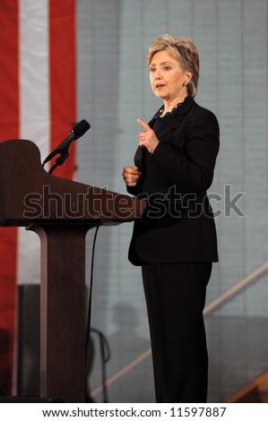 Hillary Clinton - stock photo